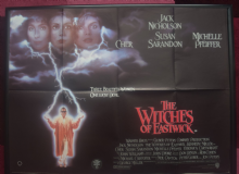 Witches of Eastwick - UK Quad Movie Poster | Jack Nicholson | Cher